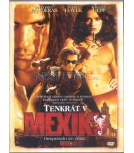 Tenkrát v Mexiku DVD