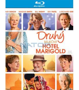Druhý báječný hotel Marigold (The Second Best Exotic Marigold Hotel) Blu-ray