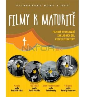Filmy k maturitě 4 - 4x DVD