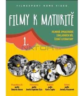 FILMY K MATURITĚ 1. - 4x DVD