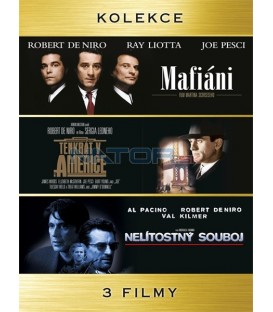 Kolekce: Mafiáni + Tenkrát v Americe + Nelítostný souboj 5DVD