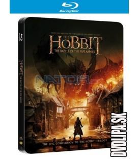 Hobit: Bitva pěti armád (The Hobbit: The Battle of the Five Armies) 2xBlu-ray STEELBOOK