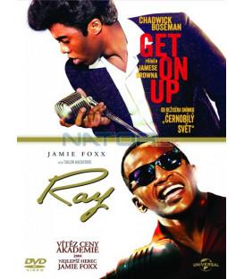 Kolekce: Get on Up - Příběh Jamese Browna / Ray 2 DVD