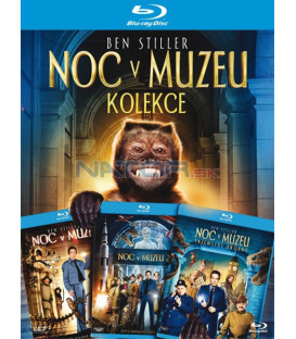 NOC V MUZEU 1-3 KOLEKCE ( Night at the Museum 1-3 Collection) 3x - Blu-ray