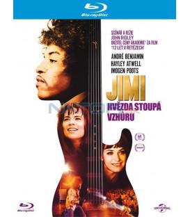 JIMI: HVĚZDA STOUPÁ VZHŮRU (Jimi: All Is by My Side) - Blu-ray