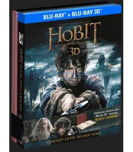 Hobit: Bitva pěti armád (4Blu-ray 3D+2D) dárková edice Bilbův zápisník