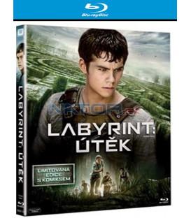 Labyrint: Útěk (The Maze Runner) limitovaná edice s komiksem Blu-ray
