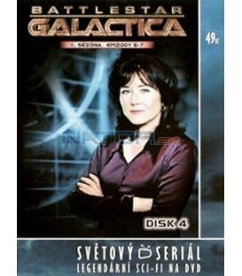 Battlestar Galactica - disk 4 - 1. sezóna, epizody 6 a 7 (Battlestar Galactica)
