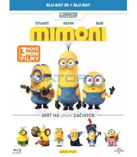 Mimoni (Minions) Blu-ray Blu-ray 3D + 2D
