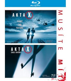 AKTA X: FILM + AKTA X: CHCI UVĚŘIT (2 BD) - Blu-ray