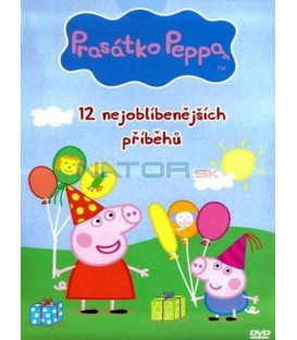 Prasátko Peppa - 12 nejoblíbenějších příběhů DVD