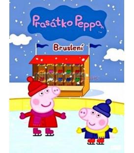 Prasátko Peppa 9 - Bruslení DVD