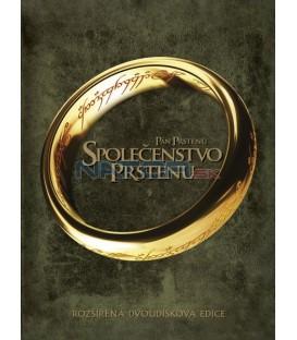 Pán prstenů: Společenstvo prstenu-rozšířená edice 2DVD (Lord of the Rings: Fellowship of the Ring-Extended Edition 2DVD)