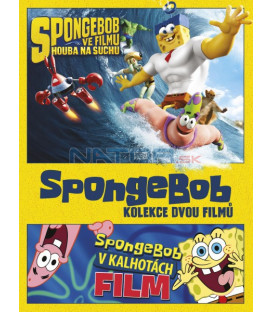 SpongeBob kolekce 1.-2. 2DVD (SpongeBob Two-movie set) DVD