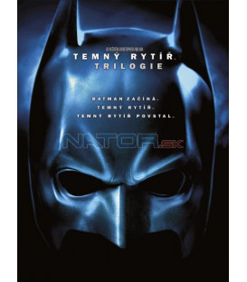 Temný rytíř trilogie 6DVD (Dark Knight Trilogy 6DVD)
