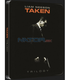 96 hodin: Trilogie 3DVD - futurepak (Taken trilogy) DVD