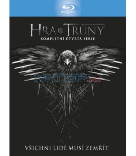 Hra o trůny 4. série (Game of Thrones Season 4) Blu-ray (4 X BD)  - Viva balení