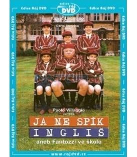 Ja ne spík Ingliš aneb Fantozzi ve škole aneb Fantozzi ve škole (Io no spik inglish) DVD
