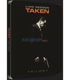 96 hodin: Trilogie (3Blu-ray) (Taken trilogy) - futurepak