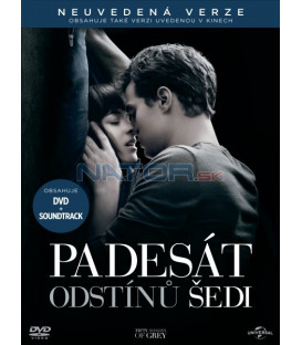 Padesát odstínů šedi (Fifty Shades of Grey) DVD + CD soundtrack