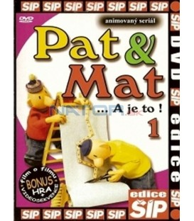 Pat a Mat 1 ...A je to! DVD