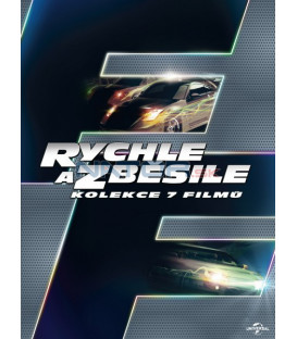 RYCHLE A ZBĚSILE 1-7 KOLEKCE - 7 DVD
