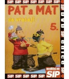Pat a Mat 5. se vracejí ...a je to! DVD