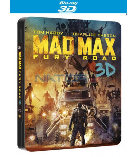 ŠÍLENÝ MAX 4: Zběsilá cesta (MAD MAX: Fury Road) Blu-ray 3D + 2D STEELBOOK futurepak