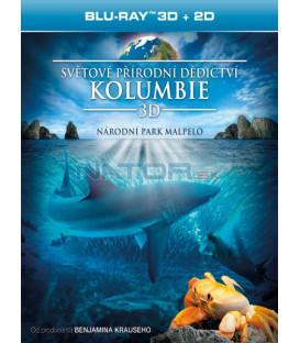 Světové přírodní dědictví: Kolumbie - Národní park Malpelo (Blu-ray 3D)