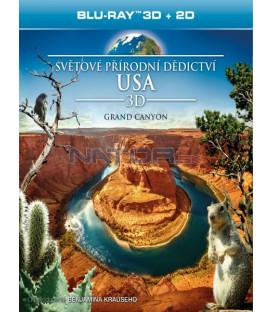 Světové přírodní dědictví: USA - Grand Canyon (Blu-ray 3D)