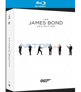 JAMES BOND - KOLEKCE (2015, 23 BD)  (kompletní edice filmů J. Bonda) - Blu-ray