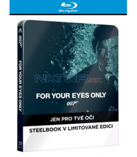 BOND - JEN PRO TVÉ OČI ( For Your Eyes Only) - Blu-ray STEELBOOK