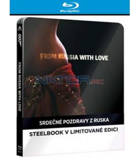 BOND - SRDEČNÉ POZDRAVY Z RUSKA (From Russia with Love) - Blu-ray STEELBOOK