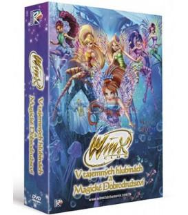 Winx Club kolekce  (2DVD):  Magické dobrodružství + V tajemných hlubinách