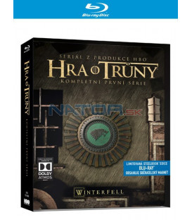 Hra o trůny 1. série (Game of Thrones Season 1) 5Blu-ray - steelbook