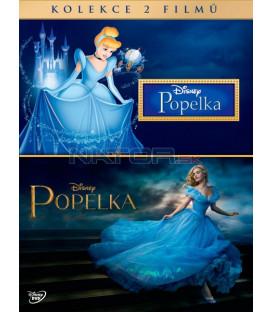 Popelka + Popelka (Cinderella + Cinderella DE) DE kolekce 2DVD