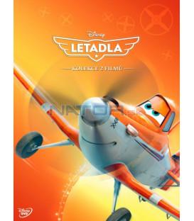 Letadla kolekce 1.-2. (Planes + Planes Fire and Rescue) 2DVD