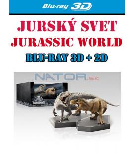 Jurský svet (Jurassic World) Blu-ray 3D + 2D Limitovaná sběratelská edice