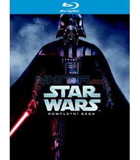 STAR WARS 1 - 6 Kompletní sága Kolekce (9 Blu-ray)