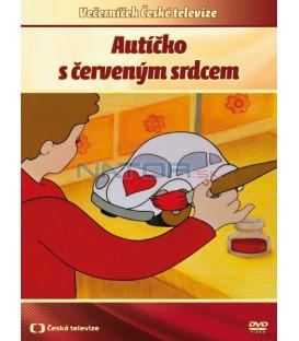 Autíčko s červeným srdcem DVD