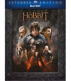 Hobit: Bitva pěti armád - prodloužená verze (The Hobbit: The Battle of the Five Armies - Extended Edition) 3Blu-ray