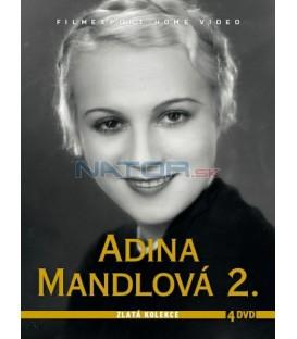 Adina Mandlová 2. – kolekcia 4 DVD