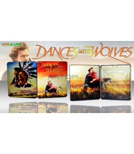 Tanec s vlky (Dances with Wolves) Blu-ray STEELBOOK
