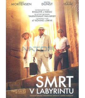 Smrt v labyrintu (The Two Faces of January) DVD