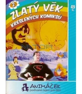 Zlatý věk kreslených komiksů 2 (ComiColor Cartoons) DVD