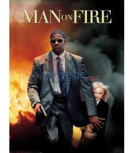 Muž v ohni  (Man on Fire) Blu-Ray STEELBOOK
