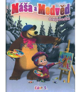 Máša a Medveď 5 - OLEJOMALBA DVD