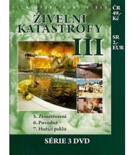 Živelní katastrofy III (Anatomy of Disaster) DVD