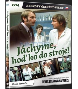 JÁCHYME, HOĎ HO DO STROJE! (Remasterovaná verze) - DVD