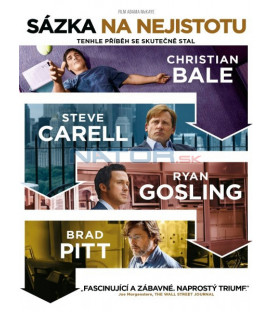 Sázka na nejistotu (The Big Short) DVD